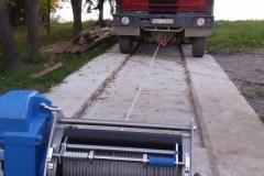 Lanový naviják BETA EL 4000 kg
