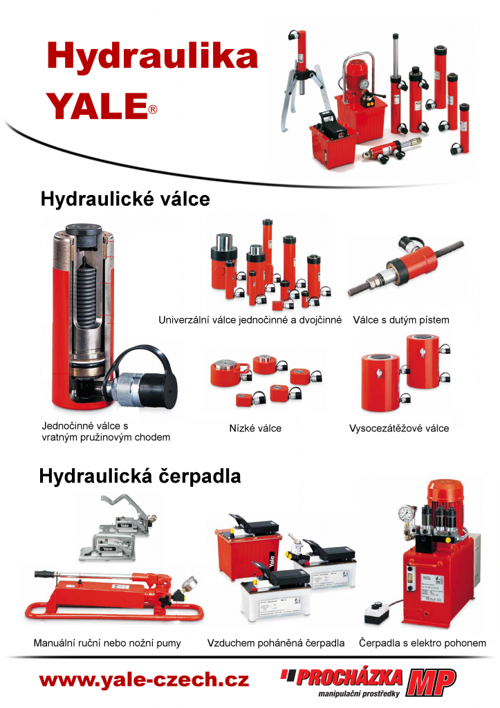 hydraulické nářadí Yale