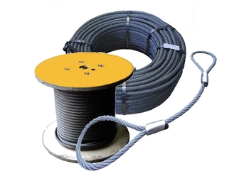 Vázací prostředky z ocelových lan