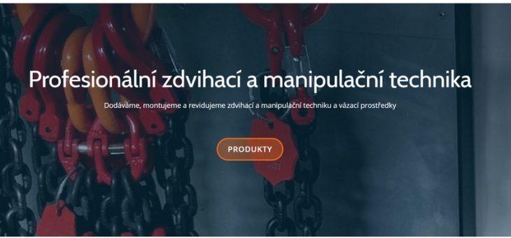 Nový design webu